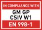 GMGPCSIVW1 - EN998-1