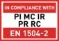 PI MC IR PR RC - EN1504-2
