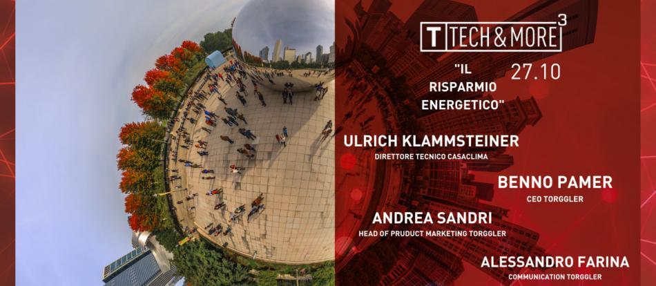 Torggler Tech&More - puntata 2 il risparmio energetico